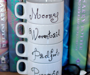 harry potter, cup, and moony image