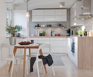 home, interior design, and kitchen image