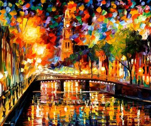 amazing, light, and painting image