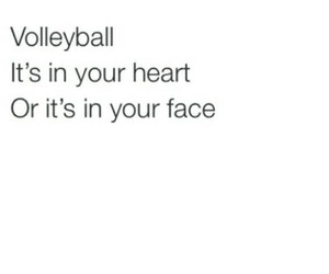 face, fit, and volleybal image