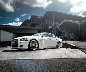 car and dodge charger srt8 image