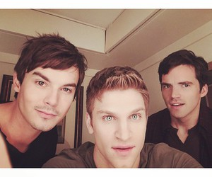 ian harding, keegan allen, and pll image