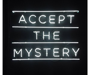 light, mystery, and neon image