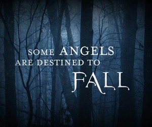 angel, book, and fallen image