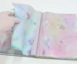 book, grunge, and art image