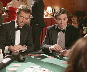 house md and wilson image