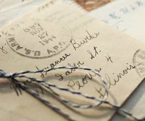 letters, vintage, and photography image