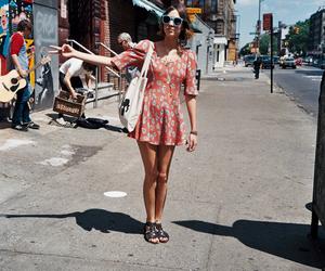 alexa chung, dress, and street image