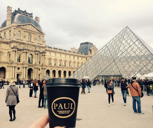 chilling, coffee, and france image