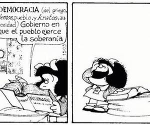 democracy and mafalda image