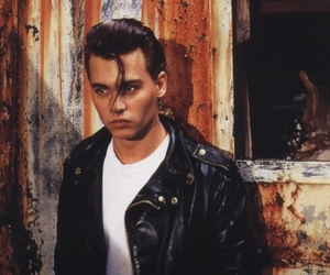 cry baby, johnny depp, and man image