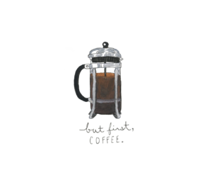 coffee, first, and morning image