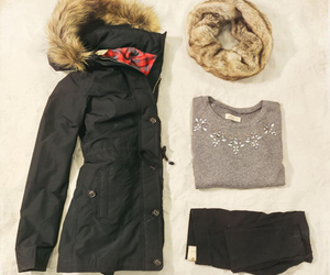 winter, fashion, and outfit image