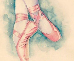 beauty, pink, and ballet image