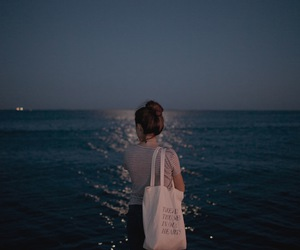 night, tote, and lovely photo image