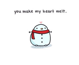 cute, winter, and chibird image