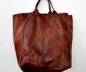 bag, fashion, and brown image