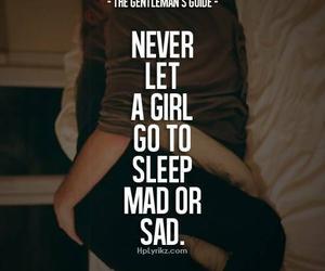 girl, sad, and mad image