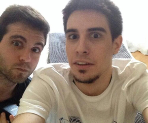 youtubers, alexby11, and vegetta777 image