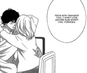hospital, manga girl, and monochrome image