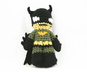 batman, crochet, and handmade image