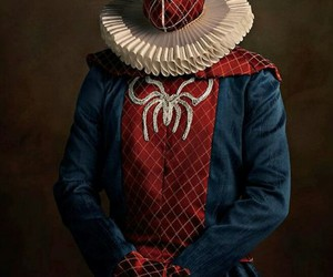 elizabethan, photography, and spiderman image