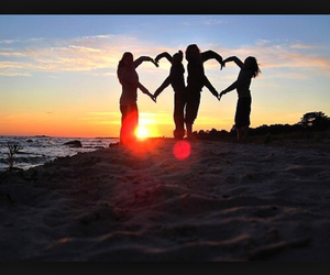 love, beach, and photography image
