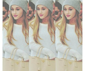 ariana grande, hair, and grande image