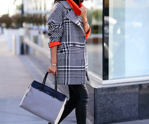 chic, cold, and coat image