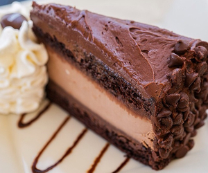 chocolate, dessert, and the cheesecake factory image