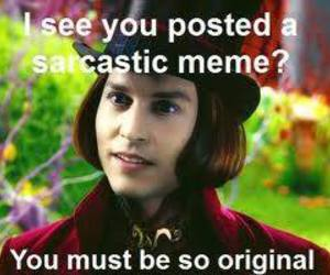 johnny depp, meme, and memes image