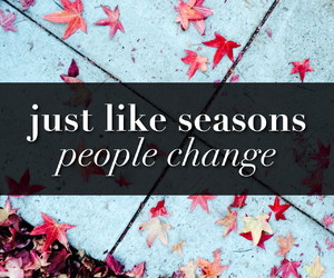people, season, and change image