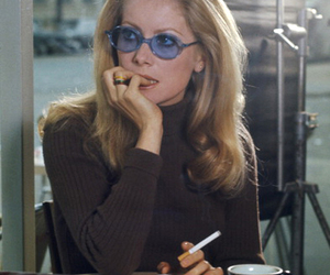 catherine deneuve, chic, and french image