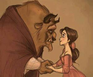 beast, beauty, and disegni image