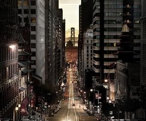 city, light, and san francisco image