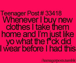 teenager post, funny, and clothes image