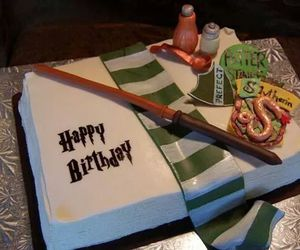 green, harry potter, and snake image