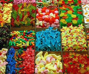 sweet, candy, and gomitas image