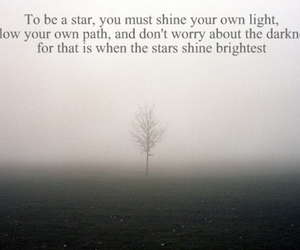 quote, stars, and text image
