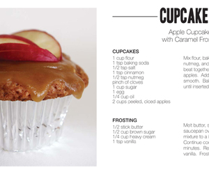 apple, cupcake, and cupcakes image