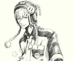 drawing, noiz, and dramatical murder image