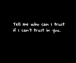 black and white, you, and trust image