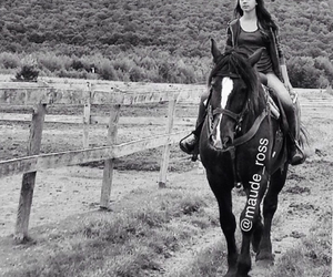 black, bridle, and Cowgirl image