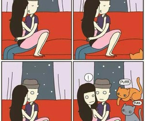 cat vs human and relatable image
