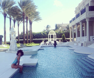 luxury, luxe, and pool image