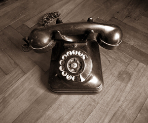old, phone, and vintage image