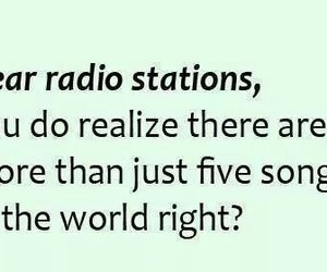 radio, song, and funny image