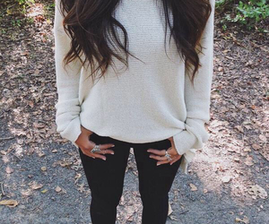 clothes, sweater weather, and fall image