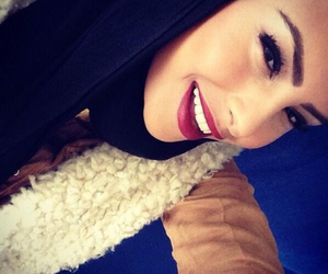 beautiful, hijab, and belle image