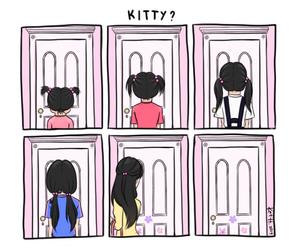 boo, disney, and kitty image